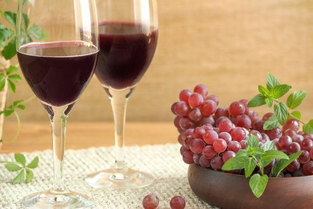 ブドウ成分を鼻から入れると肺がん予防に効果的