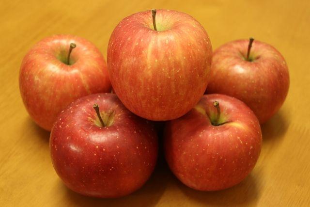 リンゴ成分が老化を遅らせる