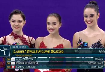 LadiesMedalistPyeongchang2018