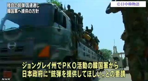韓国PKO
