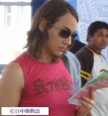 ハングルのTシャツ (2)