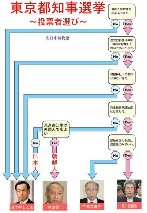 東京都知事選2