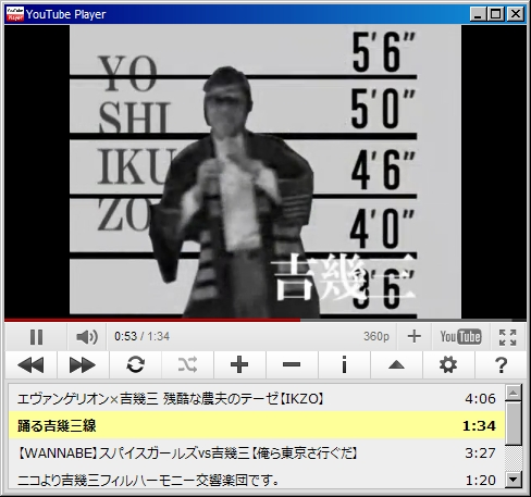 YouTubePlayer Screenshot