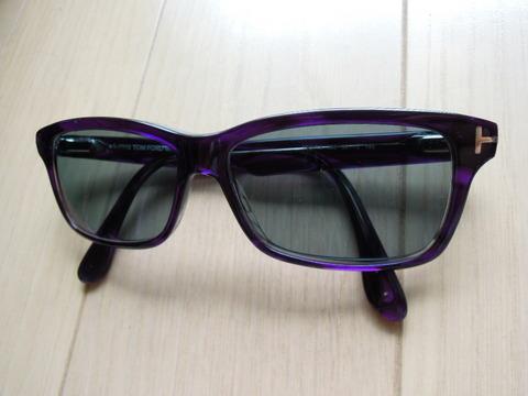 トムフォード メガネ フレーム をサングラスに