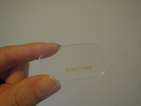 トムフォード眼鏡フレームをサングラスに