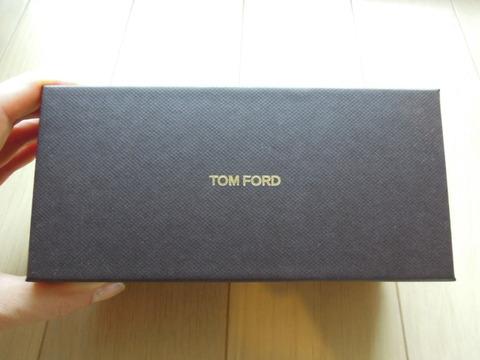 トムフォードメガネフレームをサングラスに