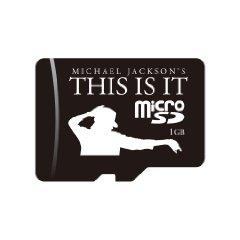 マイケル・ジャクソン THIS IS IT microSDメモリカード