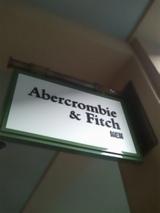 Abercrombie&Fitch(アバクロンビー&フィッチ) ハワイ アラモアナショッピングセンター