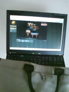 【捨てる社長!】ハンティングワールド バッグ ノートパソコンも入るし、その他書類などもじゅうぶん入れられる