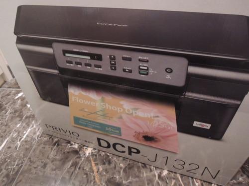 ブラザーのプリンター(複合機)ブラザー A4インクジェット複合機 PRIVIO DCP-J132N