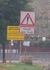 Jo'burgの道路標識