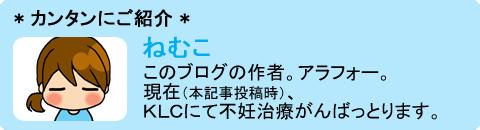 ねむこ(不妊治療編①)