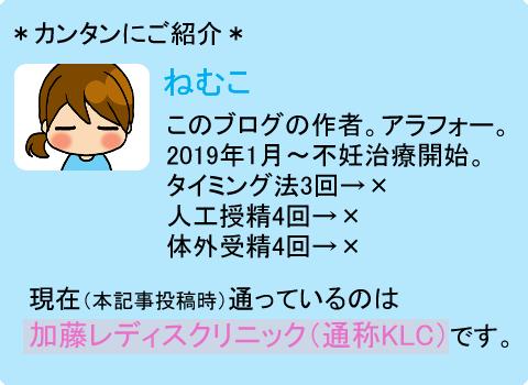 ねむこ(不妊治療編3)