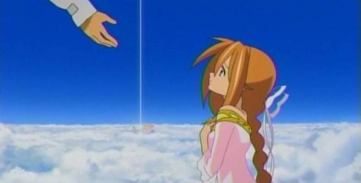 空を見上げる少女の瞳に映る世界7-6