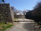 福岡城址 表御門跡