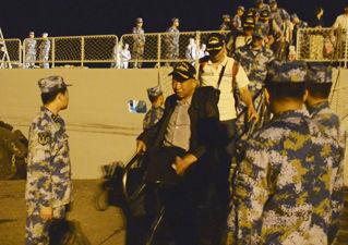 イエーメン避難中国海軍2015.3