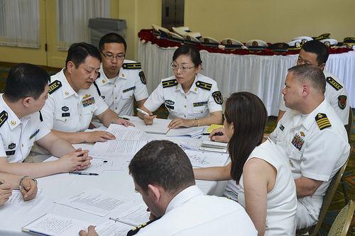 アメリカ海軍中国海軍ハワイで会合2016.5
