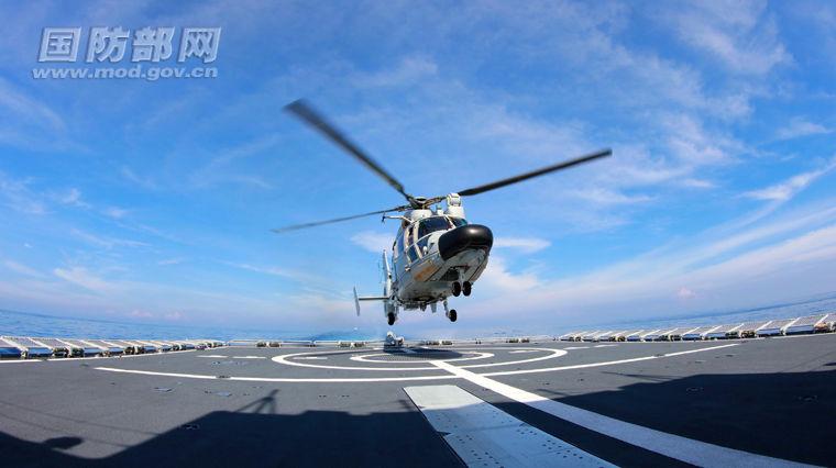 長沙遠海訓練編隊東インド洋に2017.2.18午後