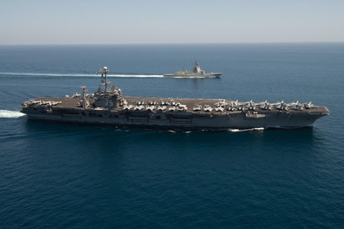 トルーマンとスペインSNMG2艦隊