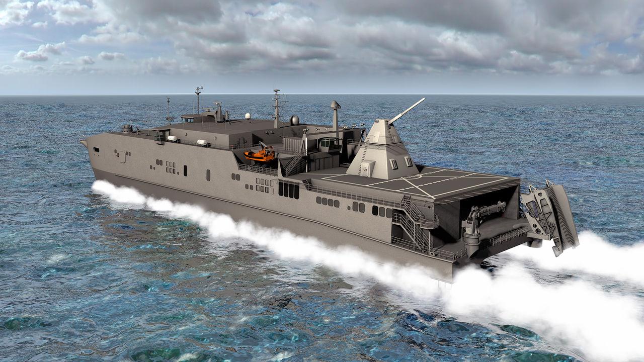 アメリカ海軍、統合高速輸送艦「ミリノケット」は沿海域戦闘艦より ...