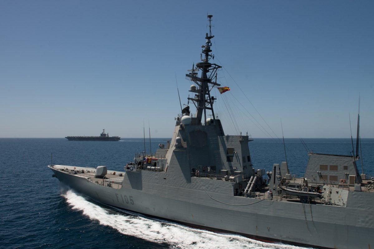 トルーマンとスペイン艦船
