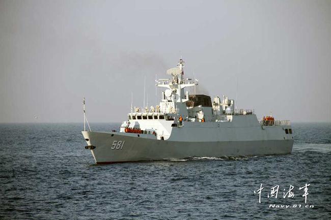 軽フリゲート581北海艦隊2014.2