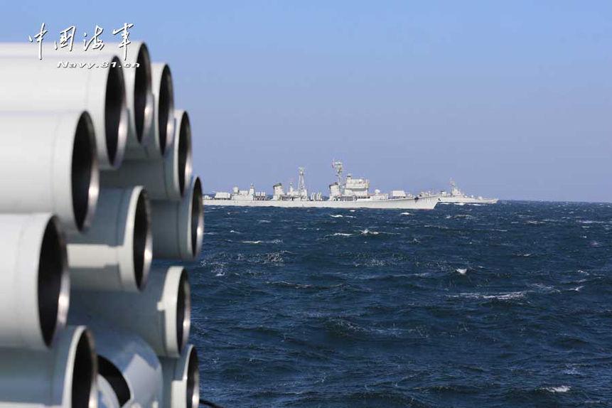 旅大型駆逐艦北海艦隊2014.2