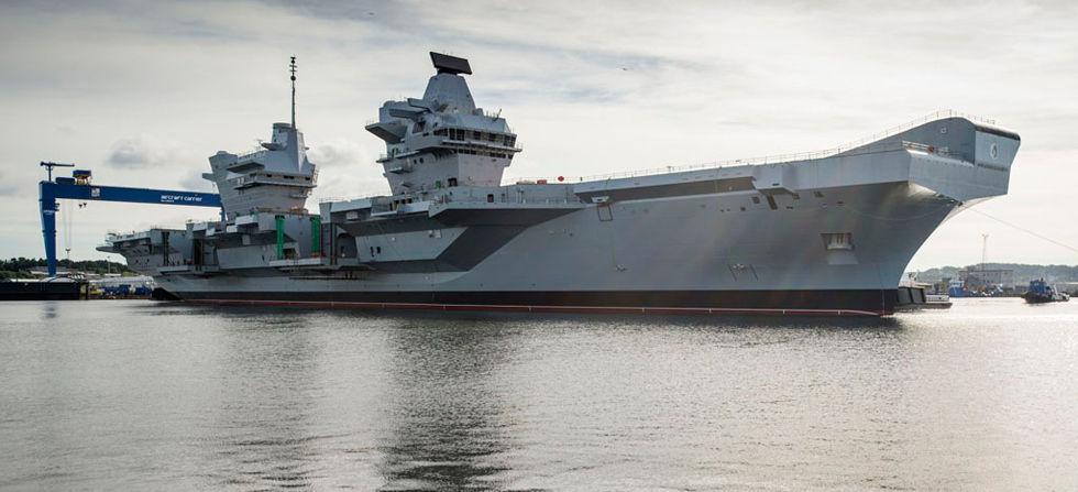 【国際】イギリス、太平洋に空母「クイーン・エリザベス」派遣へ    対中けん制狙う YouTube動画>1本 ->画像>10枚