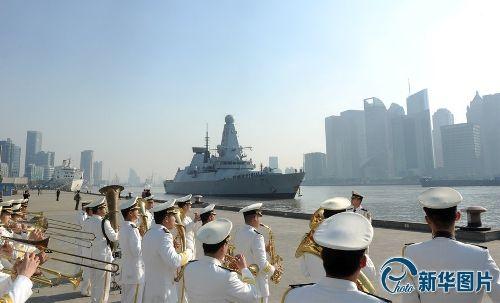 デアリング 上海に到着2013.12.10
