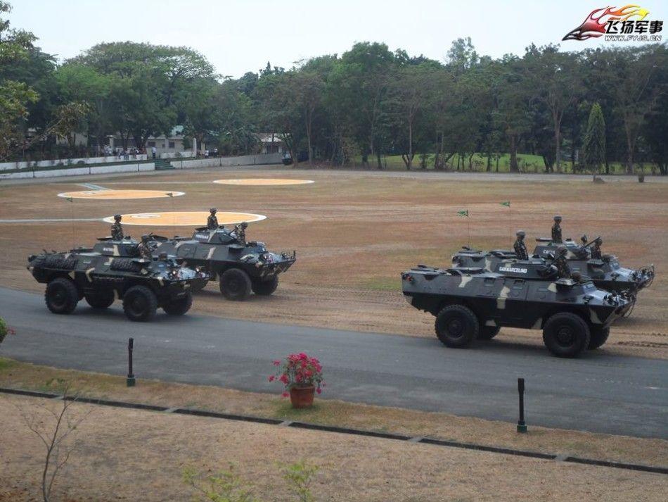フィリピン粗末な装備2016.3