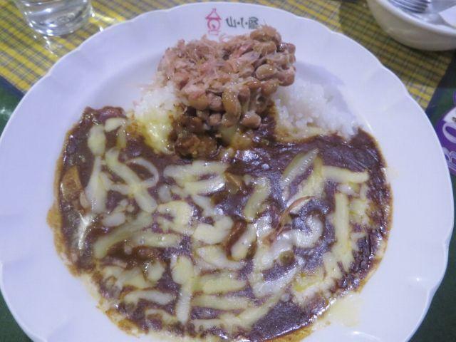 納豆 ポテトチーズ