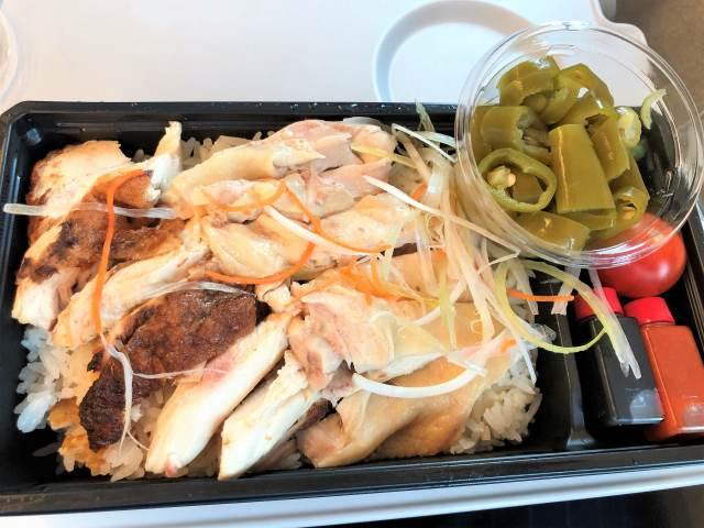 新規出店のJR品川駅ナカ「ミスターチキン鶏飯店」で「シンガポールチキンライス」(ごはんとタレが美味い!)