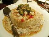 豆腐とモッツァレラチーズ