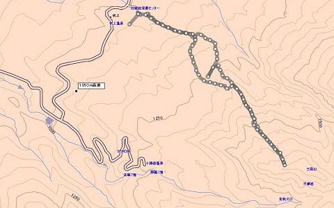 三段山ログ