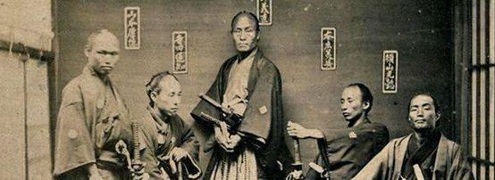 【海外の反応】外国人「これが日本のかっこいい侍5人の写真だ」→「本物の侍達」「侍はいつだってかっ