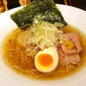 沖縄市「麺家 しゅんたく」で最高の塩ラーメン 鶏清湯