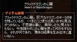 ブラックドラゴンの心臓