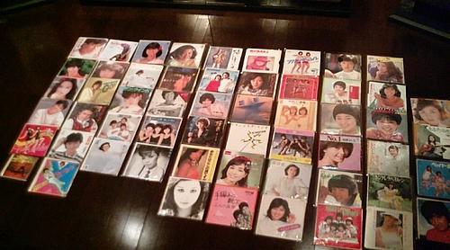 20090724-08第5回昭和歌謡レコード鑑賞会 全ジャケット