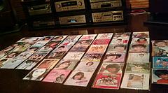 20090724-09第5回昭和歌謡レコード鑑賞会 全ジャケット&オーディオ
