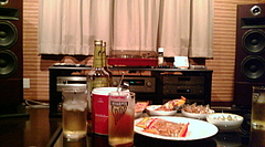 20090724-04第5回昭和歌謡レコード鑑賞会 酒とオーディオ