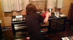 20090724-06第5回昭和歌謡レコード鑑賞会 レコードに針を落とす瞬間