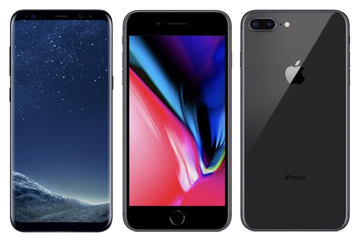 S8 vs iphone 8