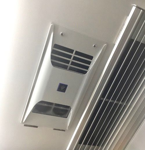 御堂筋線 空気清浄機