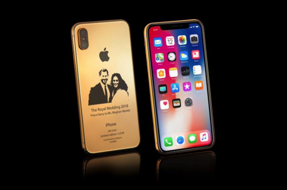 IPhoneX Gold