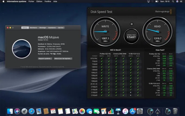 MacoBook Air SSD