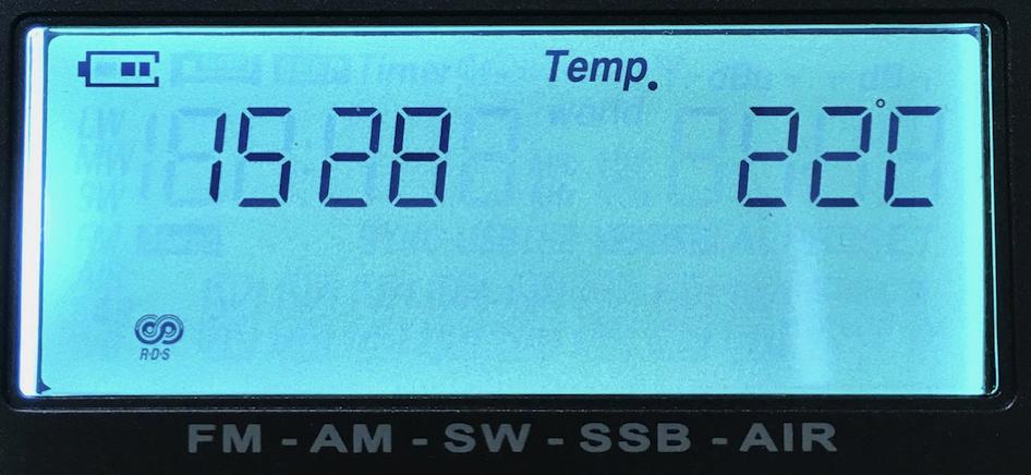 温度表示01