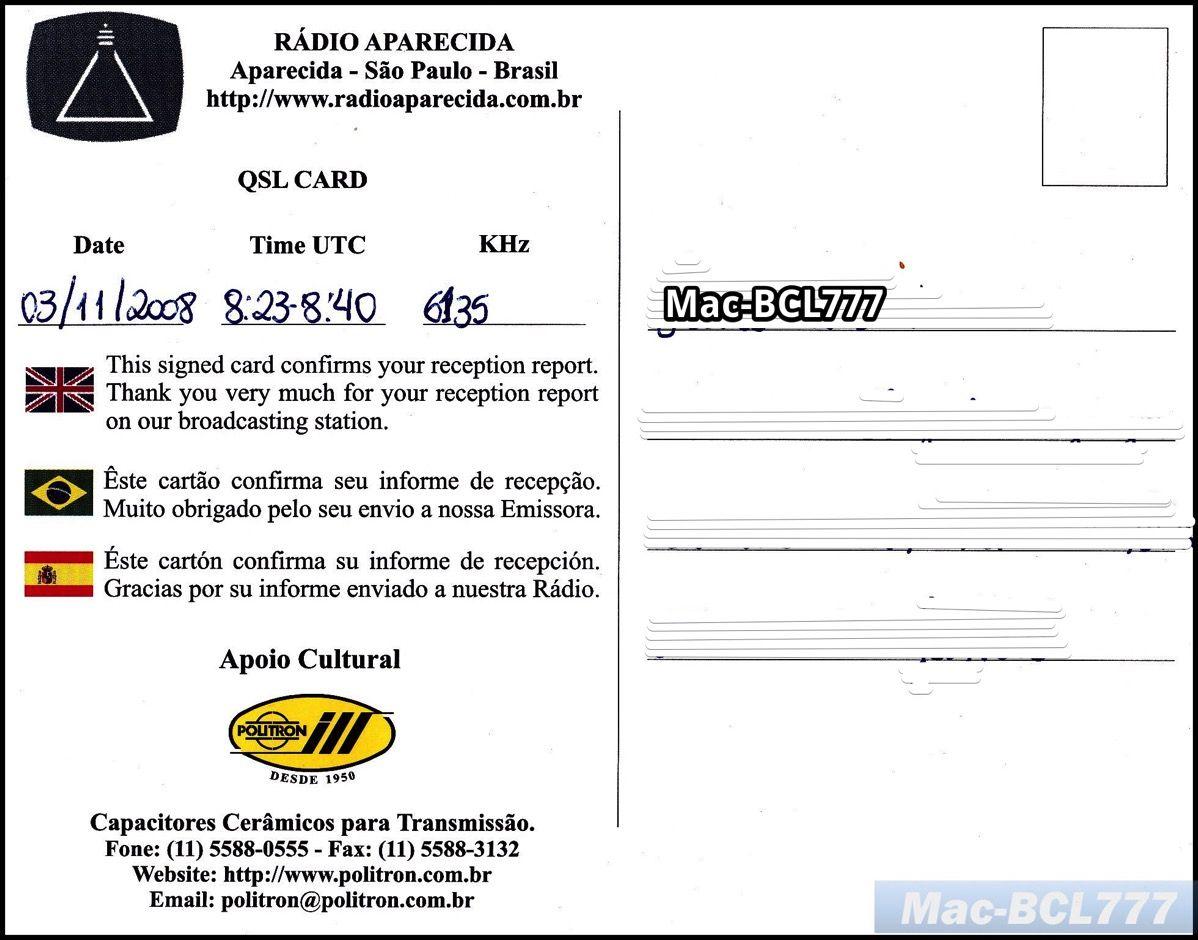 20081103 Radio Aparecida 2