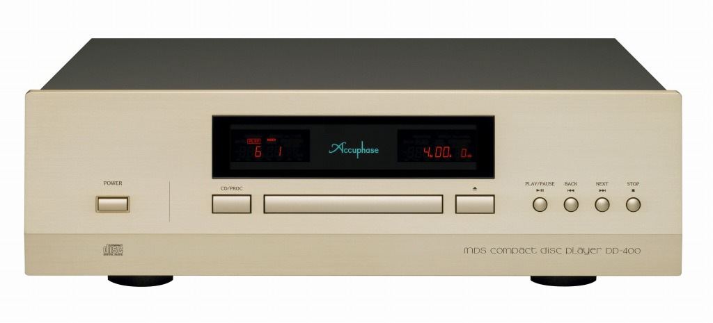 dp400f CDプレーヤー DP-400  Accuphase アキュフェーズ 新製品  D.