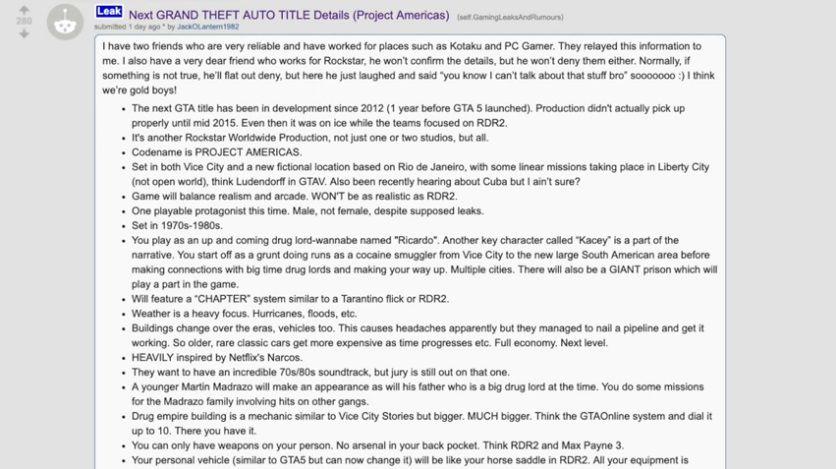 【朗報】GTA6の詳細が大量リーク→GTA5ゲーム内でそれを裏付ける証拠が発見される 発売時期も判明か?