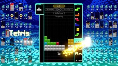 tetris 99 main